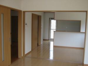 室内 リビング・キッチン
